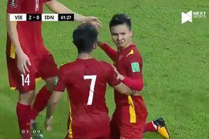 Quang Hải phát biểu khiêm tốn sau trận thắng đậm Indonesia