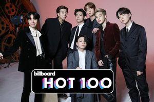 BTS giữ phong độ, tiếp tục thống trị no.1 loạt BXH Billboard