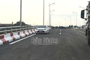 Bắc Giang: Hoàn thành xây dựng cầu Chũ, tạo thuận lợi cho người dân tiêu thụ vải thiều