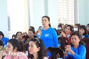 5 huyện hoàn thành đại hội đại biểu phụ nữ cơ sở