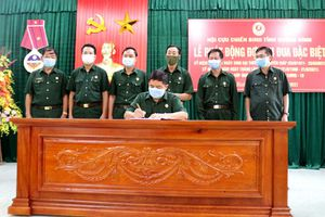 Hội CCB tỉnh: Phát động đợt thi đua cao điểm kỷ niệm 110 năm Ngày sinh Đại tướng Võ Nguyên Giáp