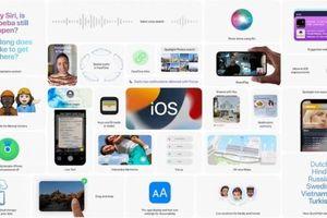 iOS 15 ra mắt với loạt tính năng mới