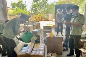 Thừa Thiên Huế: Thu giữ hơn 1.200 sản phẩm mỹ phẩm có dấu hiệu nhập lậu