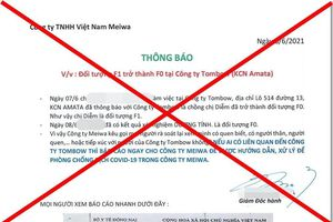 Đồng Nai yêu cầu thu hồi thông tin F1 thành F0 trong khu công nghiệp Amata