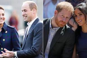 Sự khác biệt rõ ràng trong thông điệp chúc mừng của William - Kate dành cho Harry - Meghan