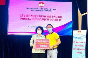 PNJ ủng hộ 2 tỉ đồng vào Quỹ vaccine chống dịch COVID-19