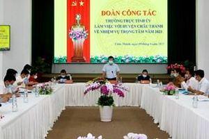 Châu Thành tạo sự đồng thuận của nhân dân đưa Nghị quyết Đại hội các cấp vào cuộc sống