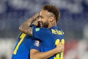 Neymar giúp Brazil thắng trận thứ 6 liên tiếp tại vòng loại World Cup