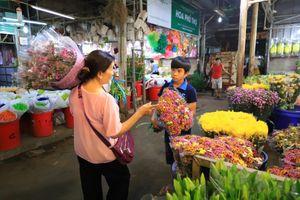 Chợ hoa Đầm Sen TP.HCM tạm dừng hoạt động