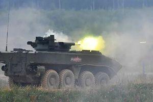 Nga dùng điện thoại điều khiển xe chiến đấu