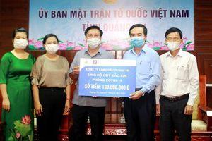 Tấm lòng người dân Quảng Trị ủng hộ phòng chống Covid-19