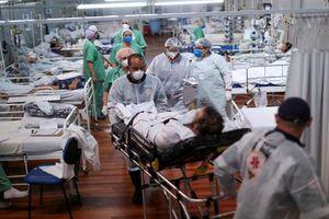 Brazil vượt Ấn Độ về số ca tử vong do Covid-19 trong ngày qua