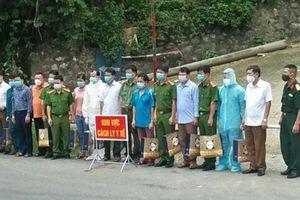Điện Biên: Dỡ bỏ phong tỏa cách ly y tế tại bản Ho Luông 2 và bản Tâu 3