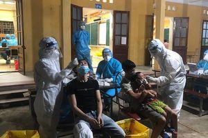 Bắc Ninh xét nghiệm SARS-CoV-2 toàn dân trên địa bàn huyện Quế Võ