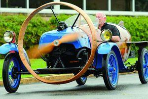 Helicron - xe ôtô cổ quái gần 90 tuổi, sử dụng công nghệ máy bay