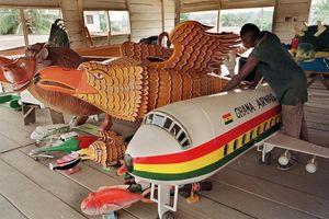 Khám phá tập tục mai táng độc lạ ở Ghana