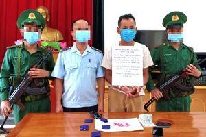 BĐBP Thanh Hóa liên tiếp bắt 2 vụ tàng trữ, vận chuyển ma túy tổng hợp