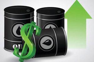 Giá dầu thô đồng loạt bật tăng mạnh