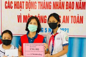 Dành học bổng đóng góp cho quỹ vắc-xin