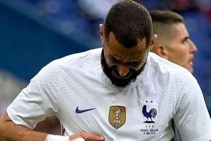 Benzema chấn thương, đội tuyển Pháp lo ngay ngáy