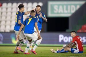 Neymar nhảy samba, Brazil thắng trận thứ 6 liên tiếp