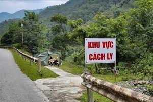 Điện Biên: Dỡ bỏ cách ly y tế bản Tâu 3, xã Hua Thanh