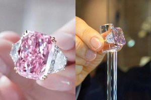 Bí ẩn vị tỷ phú tất tay mua viên kim cương hồng 'độc nhất vô nhị' giá 29,3 triệu USD