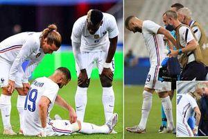 Benzema chấn thương, nguy cơ lỡ trận ra quân của Pháp tại EURO 2020