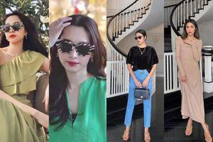 Tăng Thanh Hà & Hoa hậu Thu Thảo dù lấy chồng siêu giàu vẫn thường xuyên mặc lại đồ cũ