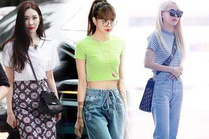 4 kiểu áo phông được sao Hàn 'sủng ái' nhất, ở nhà mặc mát mà ra phố vẫn sành điệu