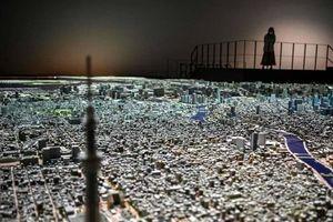 Ngỡ ngàng với mô hình thành phố Tokyo thu nhỏ tỷ lệ 1:1000 được làm hoàn toàn bằng tay