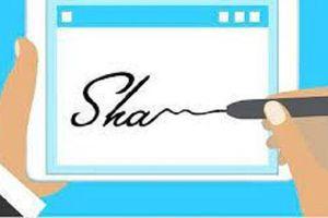 Giá trị pháp lý của chữ ký điện tử
