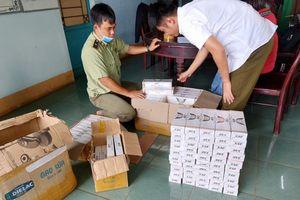 Quản lý thị trường liên tiếp bắt giữ số lượng lớn thuốc lá điếu ngoại nhập lậu