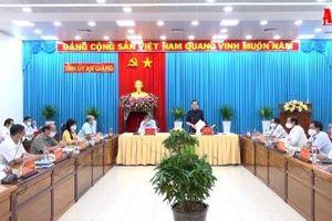 Thường trực Tỉnh ủy An Giang làm việc với lãnh đạo Ban Dân vận Tỉnh ủy, UBMTTQVN tỉnh và các tổ chức chính trị - xã hội