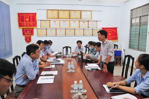 Kiểm tra công tác cải cách hành chính tại Sở Xây dựng