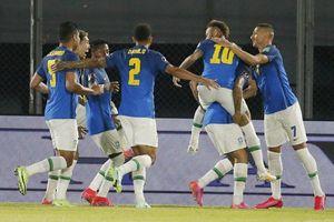 Neymar tỏa sáng, Brazil xây chắc ngôi đầu tại vòng loại World Cup 2022