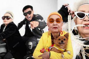 Bộ ảnh siêu ngầu của Wowy và Bà ngoại