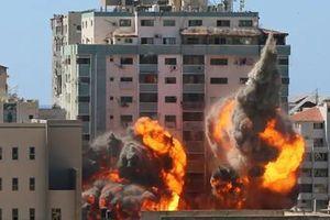 Israel hé lộ vụ không kích phá tòa soạn báo ở Gaza