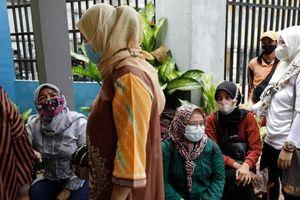 Indonesia báo cáo số ca mắc COVID-19 cao nhất 3 tháng