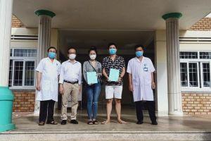 Đắk Lắk: Công bố 2 bệnh nhân COVID-19 khỏi bệnh
