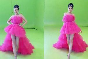 Lộ clip Hoa hậu Đỗ Thị Hà tập luyện cho đấu trường Miss World, khoe đôi chân cực phẩm