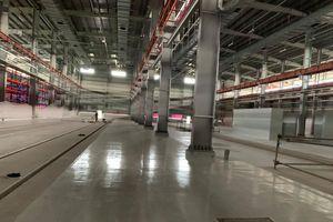 Metro số 1: Xưởng chính tại Depot Long Bình sắp hoàn thành