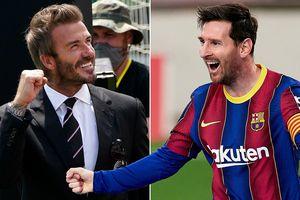 Beckham tiếp tay kéo Messi khỏi Barca