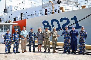 Tàu cảnh sát biển được Mỹ chuyển giao đang trên đường về Việt Nam