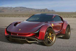 Mẫu SUV đầu tiên của Ferrari sẽ trông như thế nào?