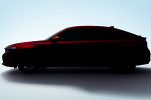Honda Civic Hatchback 2022 lộ ảnh trước ngày ra mắt