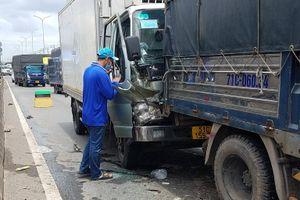 Tai nạn liên hoàn ở TP.HCM, quốc lộ 1 ùn tắc 3 km