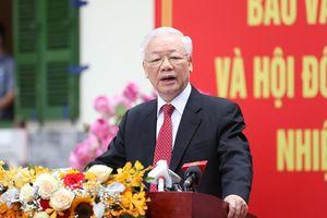 Tổng Bí thư Nguyễn Phú Trọng trúng cử đại biểu Quốc hội khóa XV tại Đơn vị bầu cử số 1 TP Hà Nội