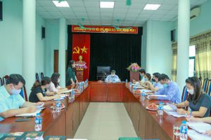 Thứ trưởng Bộ VHTTDL Đoàn Văn Việt làm việc với NXB Văn hóa dân tộc