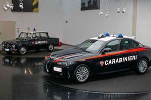 Ngắm Alfa Romeo Giulia chống đạn của lực lượng cảnh sát Ý